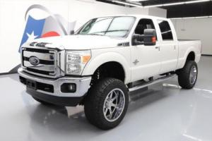 2012 Ford F-250 LARIAT CREW 4X4 DIESEL NAV LIFTED