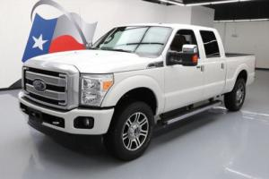 2015 Ford F-250 PLATINUM CREW FX4 4X4 SUNROOF NAV