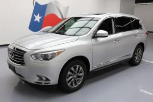 2014 Infiniti QX60 7-PASS HEATED LEATHER SUNROOF
