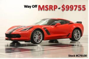 2017 Chevrolet Corvette MSRP$99755 Z06 2LZ GPS Supercharged Leather Red Coupe