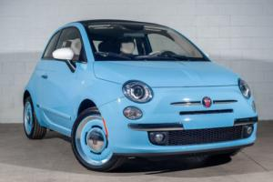 2015 Fiat 500 2dr Convertible Lounge