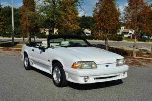1991 Ford Mustang 5.0 Convertible Super Clean! Runs & Drives Amazing