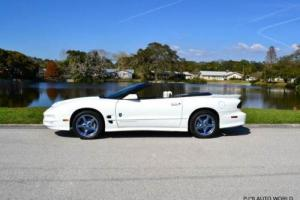 1999 Pontiac Firebird Trans Am 2dr Convertible