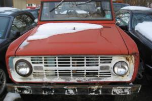 1968 Ford Bronco 1/2 Cab for Sale