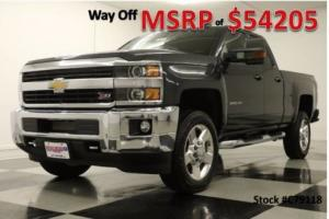 2017 Chevrolet Silverado 2500 HD MSRP$54205 4X4 LT GPS Leather Graphite Double 4WD