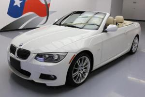 2013 BMW 3-Series 335I CONVERTIBLE M-SPORT TURBO HTD SEATS
