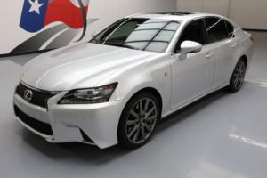 2013 Lexus GS F-SPORT SUNROOF NAV REAR CAM