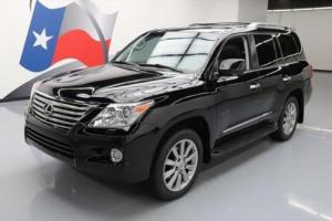 2011 Lexus LX AWD LUXURY SUNROOF NAV DVD 20'S