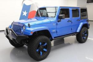2015 Jeep Wrangler UNLTD SAHARA 4X4 LIFT HARD TOP NAV