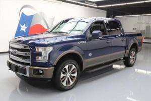 2015 Ford F-150 KING RANCH CREW 4X4 FX4 5.0L NAV