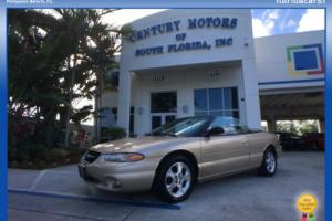 2000 Chrysler Sebring JXi FWD 3 Owner Accident Free Non Smoker