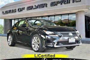 2015 Lexus RC Luxury & Navigation Package