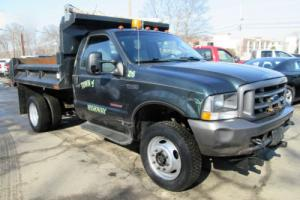 2004 Ford F-450 F450 4x4 Diesel Dump Plow 1 Town Owner NO RESERVE