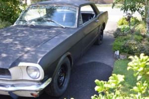 1966 Ford Mustang manual PROJECT.