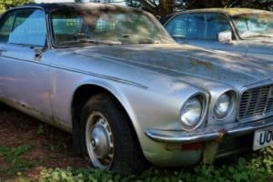 1973 Jaguar XJC 5.3 V-12 FI Coupe. Unused for 24 yrs. Full Restoration required,