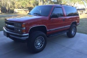 1996 Chevrolet Tahoe 2 door