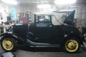 1930 Ford Model A Cabriolet