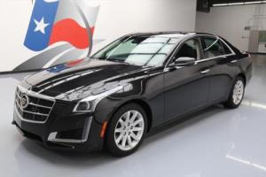 2014 Cadillac CTS 2.0T LUX PANO ROOF VENT SEATS NAV Photo