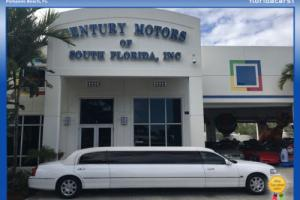 2008 Lincoln Town Car Limousine Pkg Accident Free 2 Owner 120 stretch