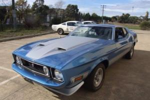 1973 FORD MUSTANG FASTBACK MACH 1 302 V8 5 SPEED MANUAL