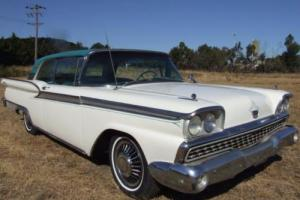 1959 FORD GALAXIE 500 2 DOOR HT 352 V8 AUTO