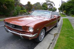 1966 Ford Mustang Convertible 289 V8 A Code With Pony Interior and Rally Pack