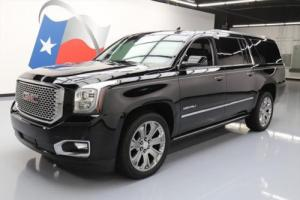 2015 GMC Yukon XL DENALI SUNROOF NAV BLU RAY 22'S