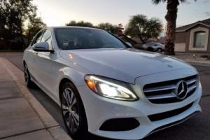 2016 Mercedes-Benz C-Class Package 1 and package 2