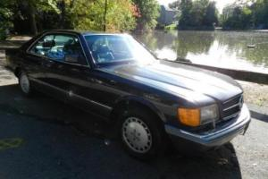 1990 Mercedes-Benz 500-Series 560SEC Photo