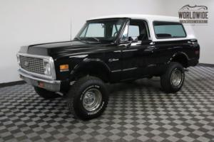 1972 Chevrolet Blazer CST COLLECTOR 4X4 CONVERTIBLE RARE NEW PAINT