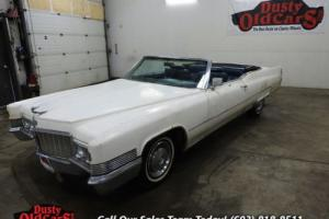 1970 Cadillac DeVille Body Int Good 472 V8 Auto
