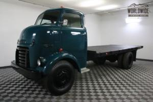 1950 GMC COE ULTRA RARE CABOVER 650 FIVE WINDOW COLLECTOR