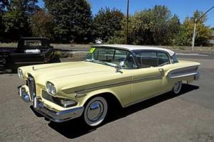 1958 Edsel Citation Oregon Showroom Photo