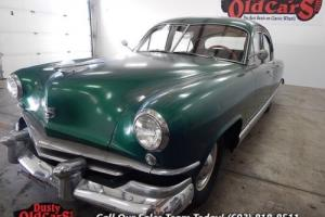 1951 Kaiser Deluxe Runs Drives Nice Body Rust Free Interior VGood
