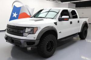 2011 Ford F-150 SVT RAPTOR CREW 4X4 6.2 SUNROOF NAV