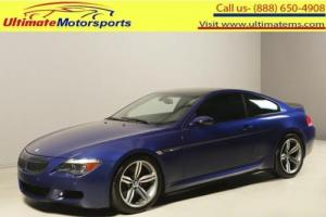 2007 BMW M6 2007 COMPETITION PKG NAV LEATHER CARBON FIBER