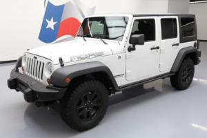 2013 Jeep Wrangler UNLTD SAHARA HARD TOP 4X4 MOAB Photo