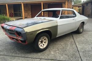 Holden HQ LS Monaro Coupe 2 door rolling shell  Project