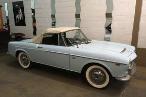 1959 Fiat 1200 cabriolet Vetture Speciale