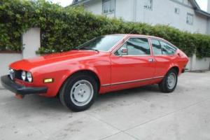 1977 Alfa Romeo GTV Photo