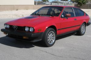 1985 Alfa Romeo GTV Photo