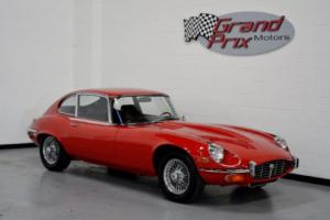 1972 Jaguar Xke E-Type V12 Coupe 2D