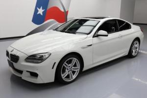 2014 BMW 6-Series 640I M-SPORT SUNROOF NAV HTD SEATS 19'S
