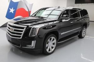 2015 Cadillac Escalade LUXURY SUNROOF NAV DVD 22'S