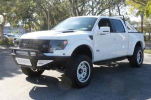 2014 ford f 150 custom white raptor. Black Bedroom Furniture Sets. Home Design Ideas