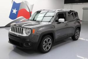 2016 Jeep Renegade LIMITED REAR CAM HTD LEATHER