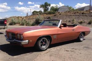 1971 Pontiac Le Mans 2 Dr. Convertible Photo