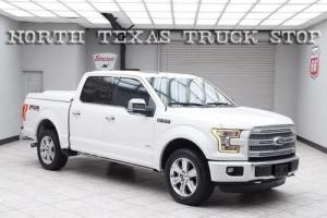 2015 Ford F-150 Platinum 3.5L Pano Roof Nav Camera 1 TX OWNER