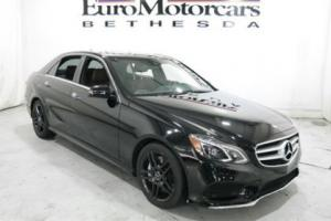 2014 Mercedes-Benz E-Class 4dr Sedan E550 Sport 4MATIC
