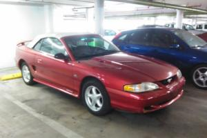 1995 Ford Mustang GT CONVERTIBLE MINT WITH 26K MILES